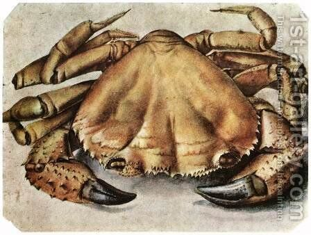 Lobster 3 by Albrecht Durer - Reproduction Oil Painting