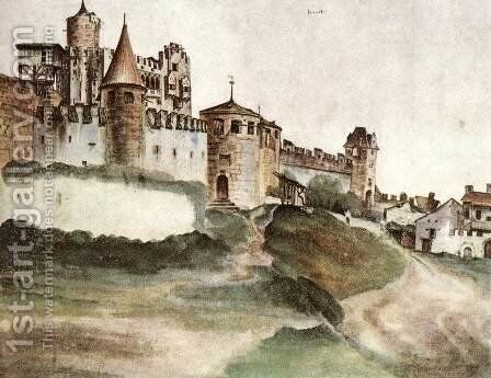 The Castle at Trento 2 by Albrecht Durer - Reproduction Oil Painting