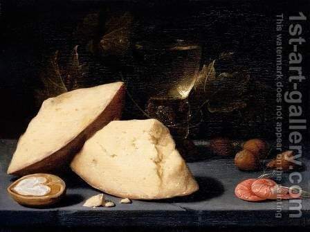 Still-Life by Jacob van Es - Reproduction Oil Painting