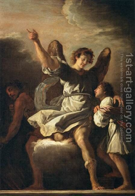 The Guardian Angel Protecting a Child from the Empire of the Demon by Domenico Feti - Reproduction Oil Painting
