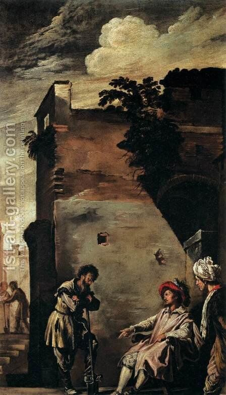 The Parable of the Vineyard by Domenico Feti - Reproduction Oil Painting