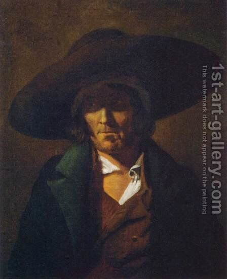 Portrait of a Man by Theodore Gericault - Reproduction Oil Painting