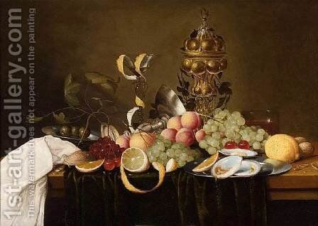 Still-Life by Jan Pauwel Gillemans The Elder - Reproduction Oil Painting