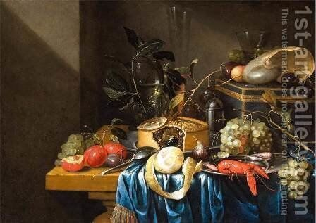 Still-Life by Jan Pauwel II the Younger Gillemans - Reproduction Oil Painting