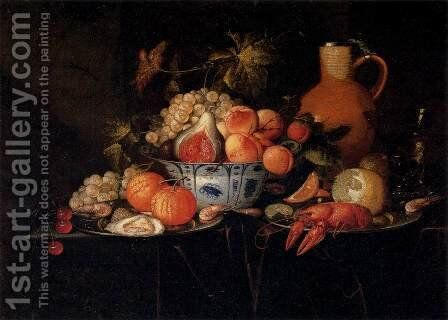 Still-Life 2 by Jan Pauwel II the Younger Gillemans - Reproduction Oil Painting