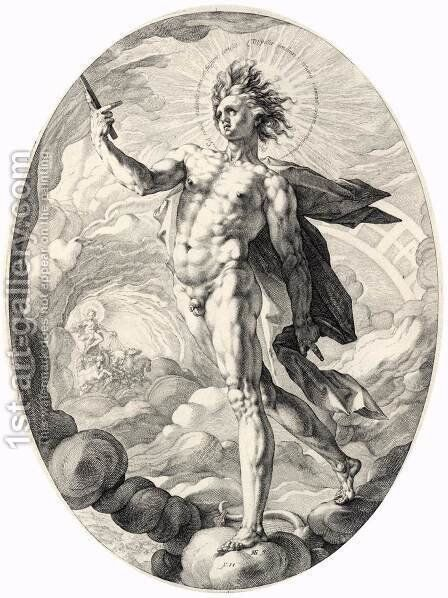 Apollo by Hendrick Goltzius - Reproduction Oil Painting