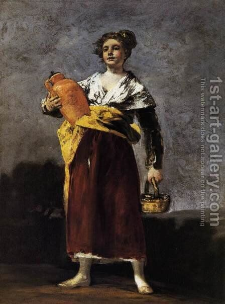 Water Carrier 2 by Goya - Reproduction Oil Painting