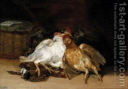 Dead Birds by Goya - Reproduction Oil Painting