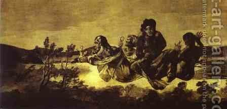 Atropos (The Fates) 2 by Goya - Reproduction Oil Painting