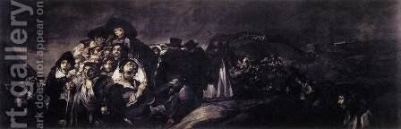 A Pilgrimage to San Isidro 2 by Goya - Reproduction Oil Painting