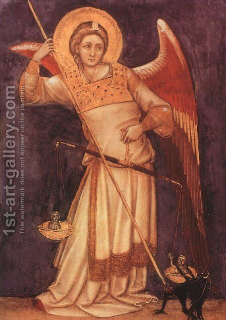 Archangel by Guariento di Arpo - Reproduction Oil Painting
