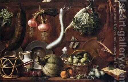 Still-Life by (Jacopo Chimenti) Empoli - Reproduction Oil Painting
