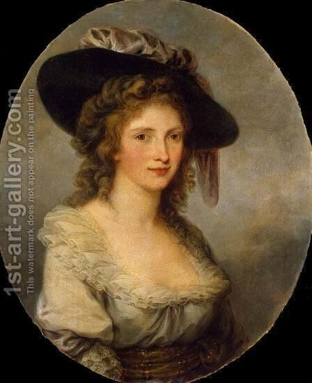 Self-Portrait 4 by Angelica Kauffmann - Reproduction Oil Painting