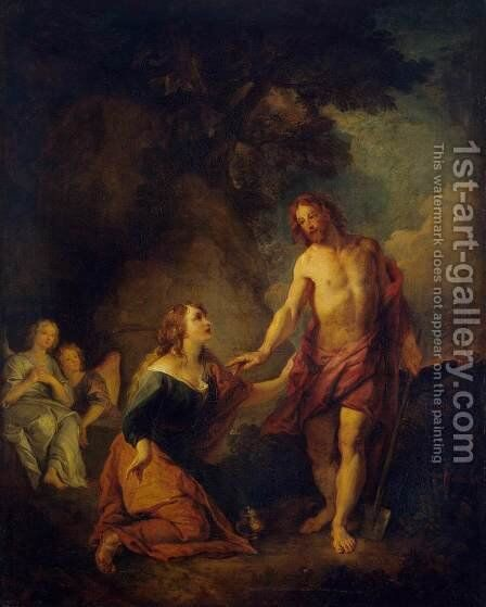 Christ Appearing to Mary Magdalene by Charles de La Fosse - Reproduction Oil Painting