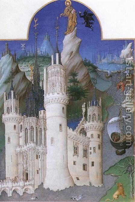 Les tres riches heures du Duc de Berry by Harry J. Pearson - Reproduction Oil Painting