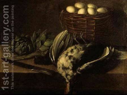 Still-Life by Carlo Magini - Reproduction Oil Painting