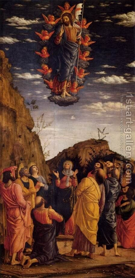 The Ascension of Christ by Andrea Mantegna - Reproduction Oil Painting