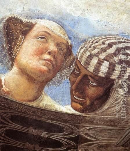 Ceiling Oculus (detail) 2 by Andrea Mantegna - Reproduction Oil Painting