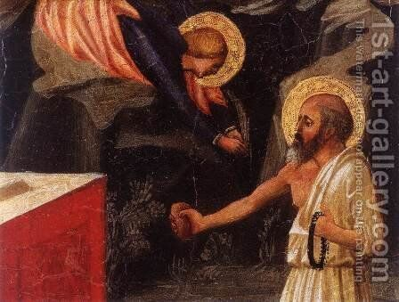 Christ in the Garden of Gethsemane (detail) 2 by Masaccio (Tommaso di Giovanni) - Reproduction Oil Painting