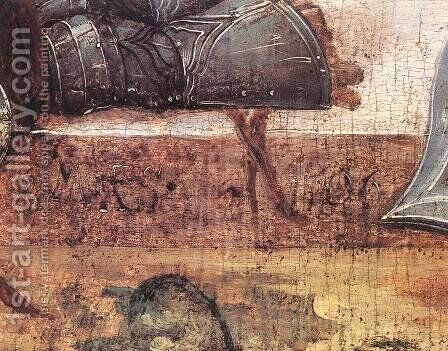 The Resurrection (detail) by Master M.S. - Reproduction Oil Painting