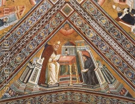 The Doctors of the Church (detail of St Jerome) 2 by Master of the Isaac Stories - Reproduction Oil Painting