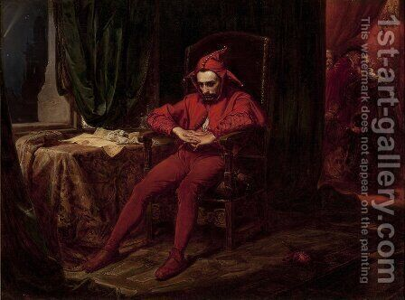 Stanczyk by Jan Matejko - Reproduction Oil Painting