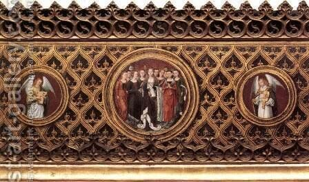 St Ursula Shrine Medallions by Hans Memling - Reproduction Oil Painting