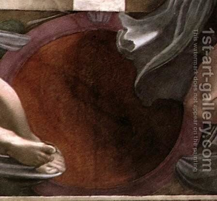 Medallion by Michelangelo - Reproduction Oil Painting