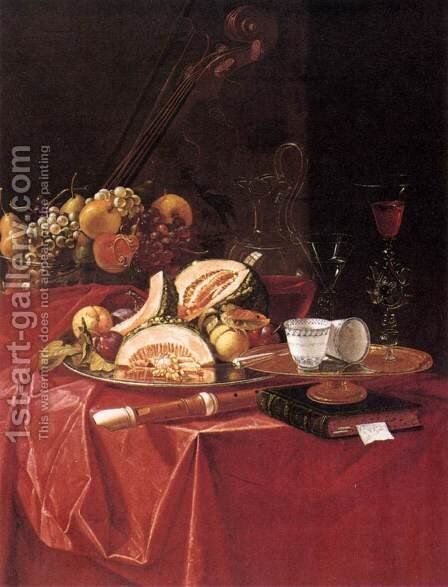 Still-Life by Cristoforo Munari - Reproduction Oil Painting