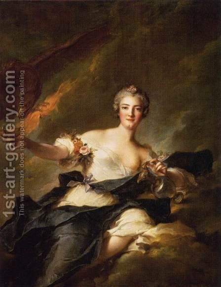 The Duchesse de Chaulnes Represented as Hebe by Jean-Marc Nattier - Reproduction Oil Painting