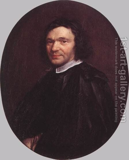Portrait of a Man by Jacob van, the Younger Oost - Reproduction Oil Painting