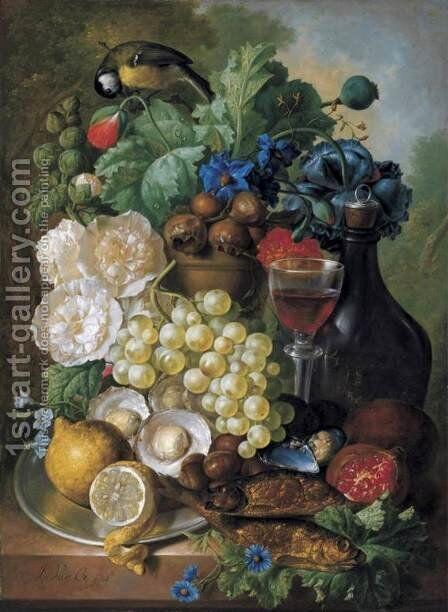 Still-Life 2 by Jan van Os - Reproduction Oil Painting