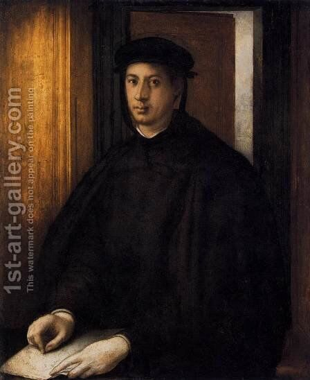 Alessandro de' Medici by (Jacopo Carucci) Pontormo - Reproduction Oil Painting