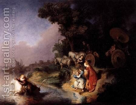 The Abduction of Europa by Rembrandt - Reproduction Oil Painting