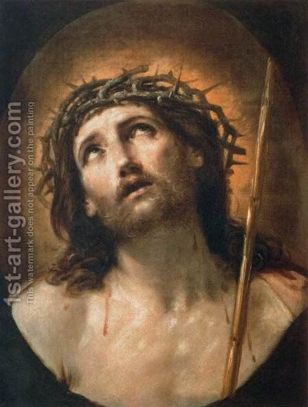 Ecce Homo by Guido Reni - Reproduction Oil Painting