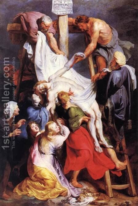 Descent from the Cross 2 by Rubens - Reproduction Oil Painting