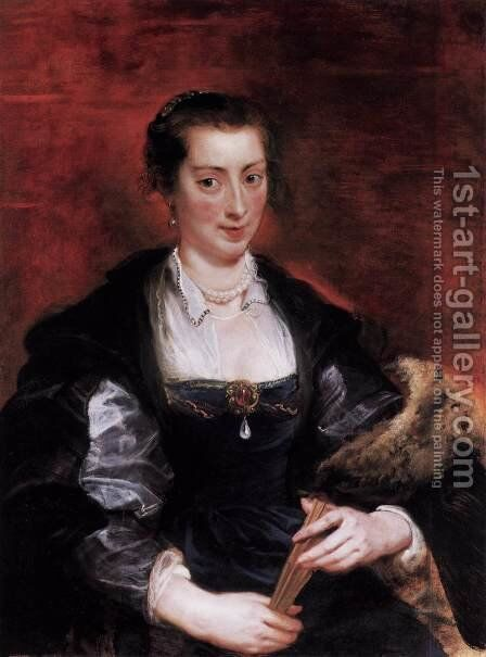 Isabella Brandt () by Rubens - Reproduction Oil Painting