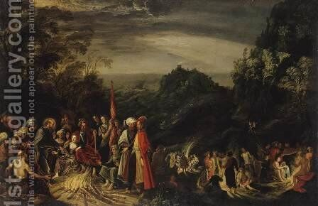 Miracle of St Paul on the Island of Malta by David The Elder Teniers - Reproduction Oil Painting