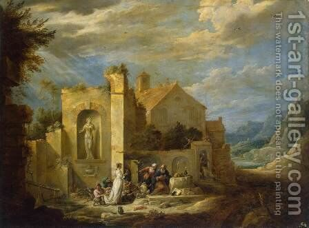 Temptation of St Antony by David The Younger Teniers - Reproduction Oil Painting