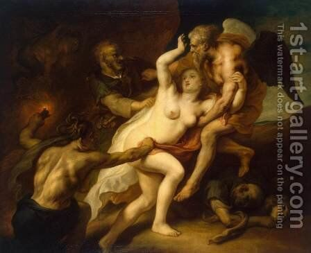 Time Reveals the Truth by Theodor Van Thulden - Reproduction Oil Painting