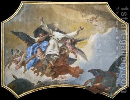 The Glory of St Dominic by Giovanni Battista Tiepolo - Reproduction Oil Painting