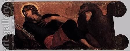 Allegory of the Scuola di San Giovanni Evangelista 2 by Jacopo Tintoretto (Robusti) - Reproduction Oil Painting