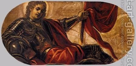 Allegory of the Scuola di San Teodoro 2 by Jacopo Tintoretto (Robusti) - Reproduction Oil Painting