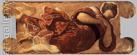 Female figure 3 by Jacopo Tintoretto (Robusti) - Reproduction Oil Painting