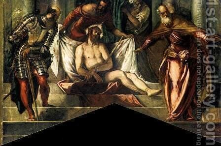 Ecce Homo 2 by Jacopo Tintoretto (Robusti) - Reproduction Oil Painting