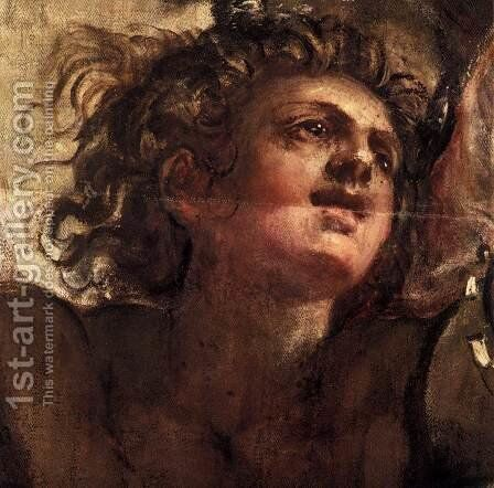 The Temptation of Christ (detail) by Jacopo Tintoretto (Robusti) - Reproduction Oil Painting