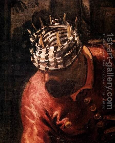 The Adoration of the Magi (detail) 3 by Jacopo Tintoretto (Robusti) - Reproduction Oil Painting
