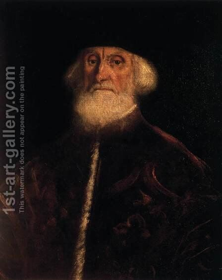 Portrait of Procurator Jacopo Soranzo 2 by Jacopo Tintoretto (Robusti) - Reproduction Oil Painting