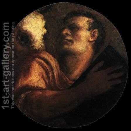 St Luke 2 by Tiziano Vecellio (Titian) - Reproduction Oil Painting