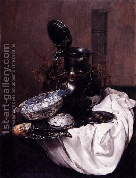 Still-Life by Jan Jansz. Treck - Reproduction Oil Painting